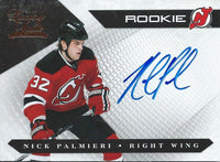 2010-11 Luxury Suite NICK PALMiERI 122/499 Auto/RC Rookie Panini Devils