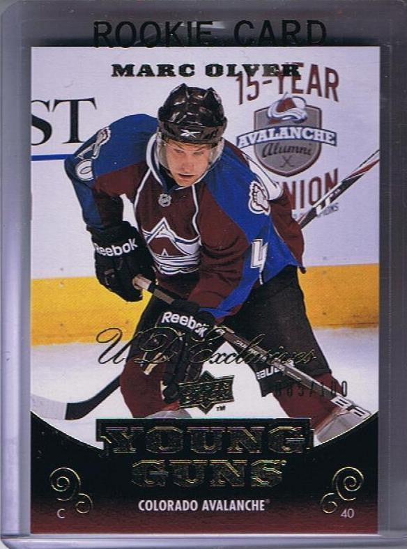 2010-11 Upper Deck YG Exclusives MARC OLIVER 85/100 Young Guns RC 02161