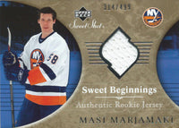 2006-07 Upper Deck Sweet Shot MASI MARJAMAKI Rookie 314/499 Jersey 01719