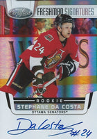2011-12 Certified STEPHANE DA COSTA Auto RC Rookie Panini Signatures 00667