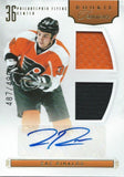 2011-12 Rookie Anthology #133 ZAC RINALDO Auto Rookie 487/499 RC 01624
