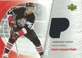 2003-04 Upper Deck Team Essentials MIROSLAV SATAN Jersey NHL UD 01944