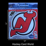 "New Jersey Devils 12"" Fathead Jumbo Multi-Use Coloured Decal Sticker"