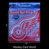"Detroit Red Wings 12"" Fathead Jumbo Multi-Use Coloured Decal Sticker"