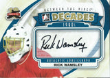 2011-12 Between the Pipes Decades RICK WAMSLEY Auto In the Game 00428