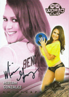 2014 Bench Warmer Soccer World Cup MIRIAM GONZALEZ Autograph Authentic