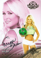 2014 Bench Warmer Soccer World Cup MICHELLE BAENA Autograph Authentic