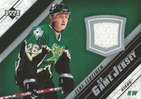 2005-06 Upper Deck Game Jersey JERE LEHTINEN NHL Hockey 00096