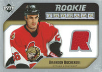 2005-06 Upper Deck Rookie Threads BRANDON BOCHENSKI UD Jersey NHL 01862