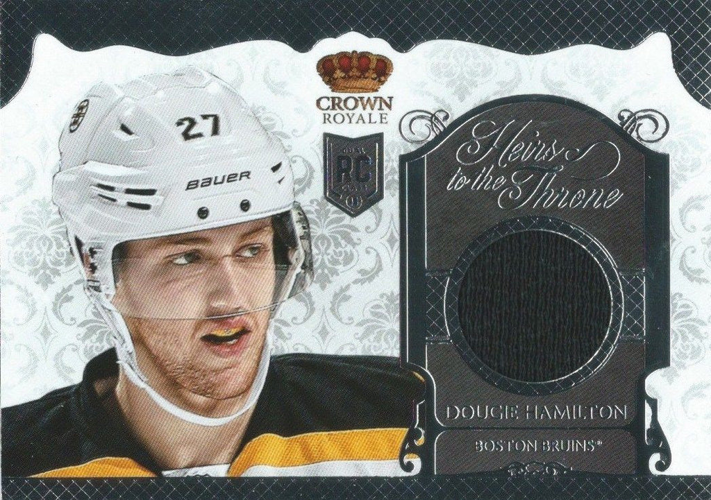 2013-14 Crown Royale Heirs to the Throne DOUGIE HAMILTON Jersey RC 01567