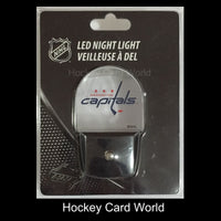 Washington Capitals Licensed NHL LED Night Light - Brand New In Box