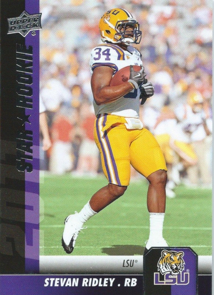 2011 Upper Deck Rookie STEVAN RIDLEY Star Rookies RC UD Football 01022