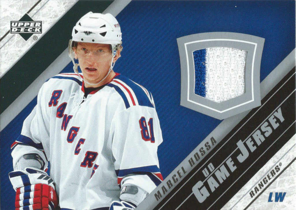 2005-06 Upper Deck Game Jersey MARCEL HOSSA NHL Hockey 00683