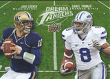2011 Upper Deck Dream Tandems LOCKER / THOMAS UD Football 01019