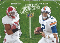 2011 Upper Deck Dream Tandems INGRAM / NEWTON UD Football 01020