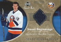 2006-07 Upper Deck Sweet Shot MASI MARJAMAKI Jersey 421/499 Rookie 00237