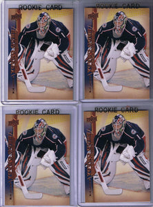 2007-08 Upper Deck YG TOMAS POPPERLE Young Guns Rookie Blue Jackets 02198