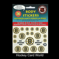 Boston Bruins NHL Licensed Logo Body Decal Sticker 5