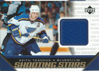 2005-06 Upper Deck Shooting Stars KEITH TKACHUK Jersey UD NHL 01885