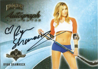 2014 Bench Warmer Signature Hockey RYAN SHAMROCK Autograph Authentic