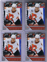 2005-06 Upper Deck YG ERIC NYSTROM Young Guns Rookie Calgary Flames 02323