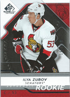 2008-09 SP Game Used ILYA ZUBOV Rookie /999 Upper Deck RC NHL 01554