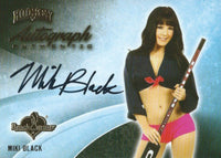 2014 Bench Warmer Signature Hockey MIKI BLACK Autograph Authentic