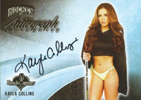 2014 Bench Warmer Signature Hockey KAYLA COLLINS Autograph Authentic
