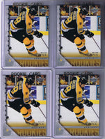 2005-06 Upper Deck YG MILAN JURCINA Young Guns Rookie Boston Bruins 02329