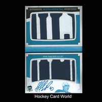 2013-14 The Cup Monumental NAIL YAKUPOV 2/5 RC Patch Auto UD Logo Booklet