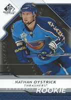 2008-09 SP Game Used NATHAN OYSTRICK Rookie /999 Upper Deck RC NHL 01001