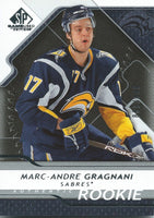 2008-09 SP Game Used MARC-ANDRE GRAGNANI Rookie /999 Upper Deck RC 01000