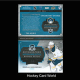 2013-14 The Cup Monumental MIKAIL GRIGORENKO 3/5 RC Patch Auto Booklet