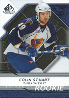 2008-09 SP Game Used COLIN STUART Rookie /999 Upper Deck RC NHL 00998