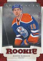 2013-14 Upper Deck Artifacts Ruby JUSTIN SCHULTZ 167/299 Rookie 02007