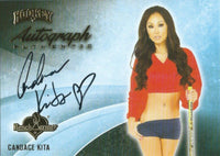 2014 Bench Warmer Signature Hockey CANDACE KITA Autograph Authentic