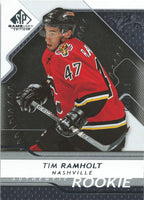 2008-09 SP Game Used TIM RAMHOLT Rookie /999 Upper Deck RC NHL 00995