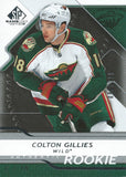 2008-09 SP Game Used COLTON GILLIES Rookie /999 Upper Deck RC NHL 00994