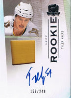 2009-10 The Cup TYLER MYERS Patch/Auto Rookie 159/249 RC Buffalo Sabres