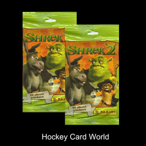 2004 Panini SHREK 2 - 10 Album Sticker Pack x2 (2 Pack Lot - 20 Stickers)