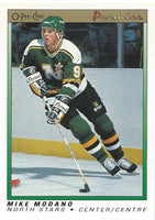 1990-91 OPC O-Pee-Chee Premier #74 MIKE MODANO Rookie RC Hockey 02431