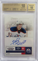 2011-12 Panini Contenders RYAN NUGENT-HOPKINS BGS 10 #/800 Auto RC Rookie