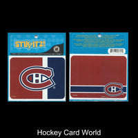Montreal Canadiens Stikitz 2 Pack Decal Sticker NHL Licensed 4