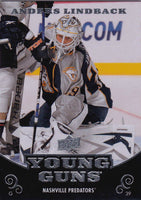 2010-11 Upper Deck YG ANDERS LINDBACK Young Guns Rookie RC 02178