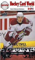 2008-09 Upper Deck YG KYLE TURRIS Young Guns Rookie RC 02182