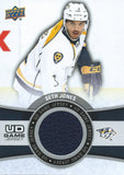 2015-16 Upper Deck Game Jersey SETH JONES Fabric Swatch UD 02510
