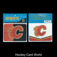 Calgary Flames Stikitz 2 Pack Decal Sticker NHL Licensed 4