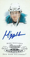 2008-09 Upper Deck Champ's Mini MIKE IGGULDEN Signatures Autograph 00189