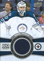 2015-16 Upper Deck Game Jersey ONDREJ PAVELEC Fabric Swatch UD 02519