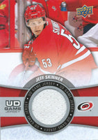 2015-16 Upper Deck Game Jersey JEFF SKINNER Fabric Swatch UD 02524
